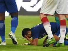 Pedro se lesionó y no pudo jugar ante el Norwich. AFP