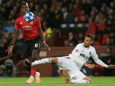 El francés quiere abandonar el United. AFP