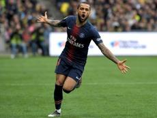Dani Alves podría regresar a la Liga Brasileña. AFP