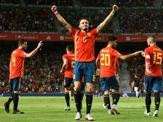 En Elche goleó la Selección Española. AFP