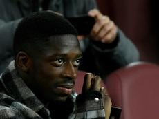 El Liverpool quiere a Dembélé. AFP