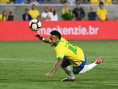 Ney a joué face à la Colombie et au Pérou. Instagram/NeymarJr