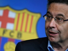 Bartomeu denied he has thought about resigning. AFP