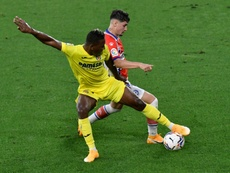 El Villarreal recibe la visita del Valladolid. AFP