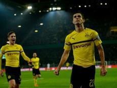 Pulisic salvó al Borussia. AFP