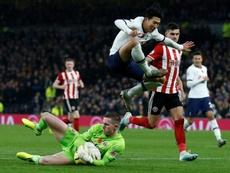 Dean Henderson, nuevo objetivo del Chelsea y del PSG. AFP