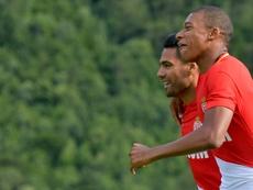 Monaco played laughed at Mbappé. AFP