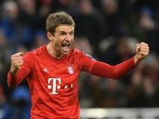 Mueller extends Bayern stay until 2023. AFP