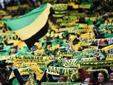 Trois cas de coronavirus au FC Nantes. afp