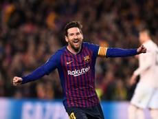 Las próximas armas de Leo Messi. AFP