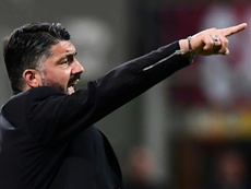 Cambios 'made in Gattuso'. AFP