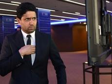 Situation tendue entre Nasser al-Khelaïfi et les joueurs sur la baisse des salaires. AFP