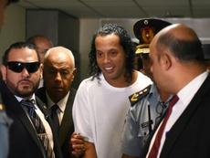 Ronaldinho devant le juge pour être fixé sur son sort. AFP