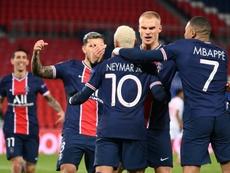 Outrageusement dominé, le PSG bat Leipzig et se relance. afp