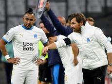 L'entraîneur marseillais s'est félicité de la forme de son équipe. AFP