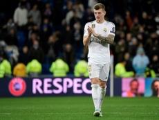 Kroos recordó el paso de Lopetegui por el Madrid. AFP