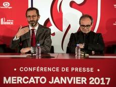 Luís Campos sería el plan B del Milan para el banquillo. AFP