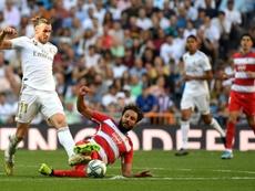 Bale, de vuelta ante Unionistas. AFP