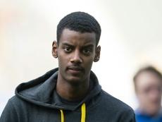 Le Borussia Dortmund se garde une option de rachat pour Isak. AFP