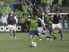 San Jose y Seattle Sounders van a otro ritmo. AFP
