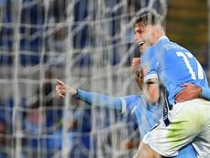 Luis Alberto e Immobile completan la semana fantástica de la Lazio. AFP
