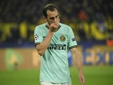 O United tenta Godín e dá adeus a Lingard e Andreas Pereira. AFP