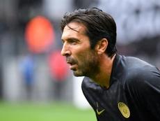 Buffon ne veut pas d'un match contre la Juve. AFP