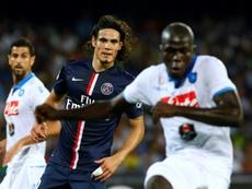 Koulibaly, Fekir, Cavani : les trois rêves de Newcastle. AFP