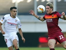 Zaniolo tests positive for coronavirus at Roma. AFP