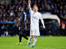 O papel de Luka Modric mudou muito nesta temporada. AFP
