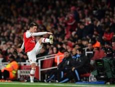 Mesut Özil termina em 2021 no Arsenal e é desejado pelo Fenerbahce. AFP