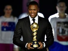 Julio Baptista dirigirá en las categorías inferiores del Real Valladolid. AFP