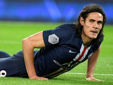 Cavani cree que lo mejor que pudo hacer es quedarse en el PSG. AFP