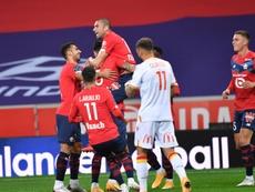 Le LOSC survole le derby et prend la tête de la Ligue 1. afp