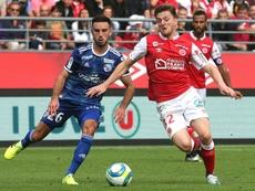 Les compos probables du match de Ligue 1 entre Reims et Angers. AFP