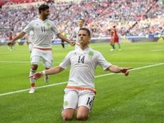 Matthäus a encensé Chicharito et Raúl Jiménez. AFP