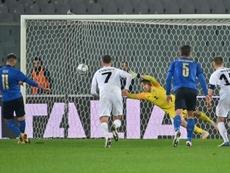 L'Italia vince al Franchi. EFE