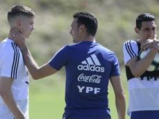 Di María quiere sentirse importante en la Selección Argentina. AFP
