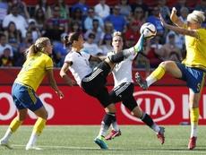 El equipo alemán femenino consigue el pase a la final olímpica. EFE