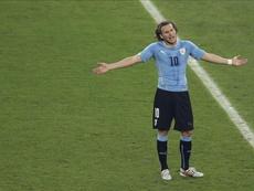 Diego Forlán se remémore la Coupe du monde 2010. EFE