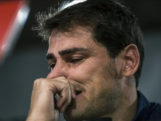 A amarga lembrança de Casillas. EFE