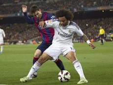 Messi et Marcelo, une longue histoire d'amour vache. EFE