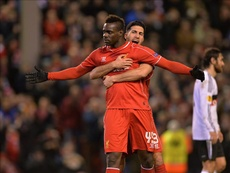 Balotelli, uno de los 'olvidados' del Liverpool. EFE