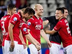 El AZ Alkmaar se ha reforzado con una nueva cesión. EFE/Archivo