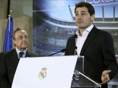 Casillas will never forget the day he said goodbye to Real Madrid. EFE
