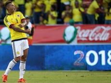 Edwin Cardona podría perderse partidos del Mundial. EFE