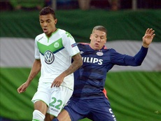 Bruma llegó al Wolfsburgo en el curso 2016-17. EFE