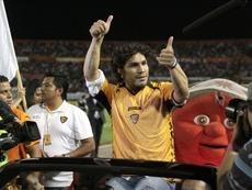 Salvador Cabañas regresa a México. EFE/Archivo