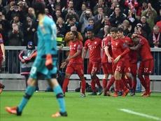 Bayern defeat still lingering on players' minds. EFE