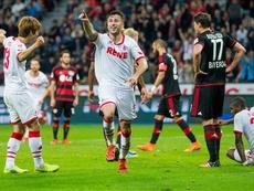El Köln no ha tirado la toalla y quiere estar en la Europa League. EFE/EPA/ROLF VENNENBERND